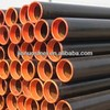 Full hard black carbon round welded steel rec tube