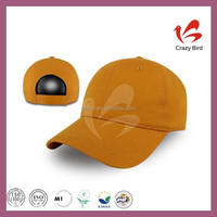 Get $1000 coupon plain blank baseball hats adjustable hook and loop fastener caps
