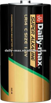 C Size Super Alkaline Battery
