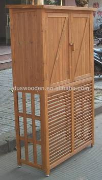 Wooden Aircon cover and shed Wooden air conditioning cover