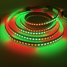 DC5V 144 <strong>led</strong>/M high density programmable 5050 rgb dazzling ws2812b <strong>led</strong> strip