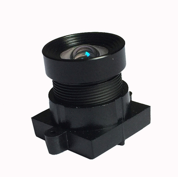 4.55mm 1/2.3'' M12 10mp low distortion lens with IR cut filter for high speed video camera