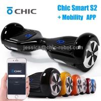 chic smart s2 intelligent app control smart two wheel self balancing scooter