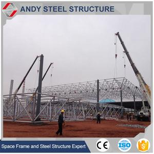 50 Years Lift time Space Construction Lightweight Steel Frame