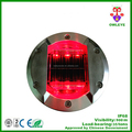 Wireless embedded waterproof solar LED embedded road stud