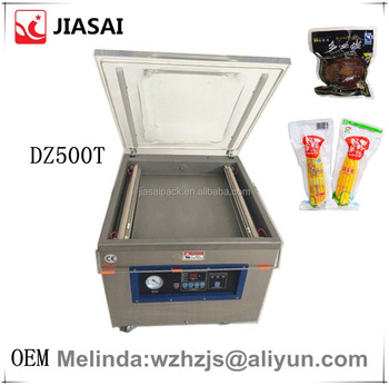 OEM vacuum packing machine DZ500T household vacuum sealer