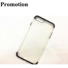 GC Ultra-thin gel transparent clear TPU cell phone case for iphone 7