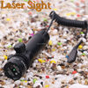 Laser Scope, adjustment hunting riflescope, red and green laser sight