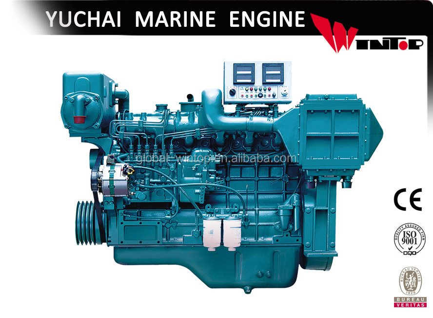 6 cylinder small boat diesel engine