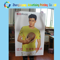 Hanging silk/canvas/ fabric /pvc banner printing