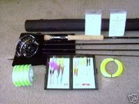 Saltwater Fly Fishing Rod Reel Hi End Combo