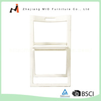 Wholesale Multicolor home decoration white folding chairs