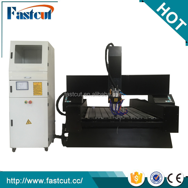 China Jinan stone cnc router granite edge profiling cnc machines for granite type 9015