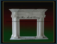 Hot Sale Marble Stoves and Fireplaces