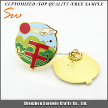 Newest product Factory price Top Quality poppy lapel badge
