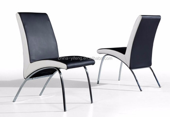 Z shape leather dining chair for restaurant used buy z for Z shaped dining room chairs