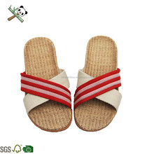 Cheap Indoor flat Home indoorshoes bamboo slippers shoes