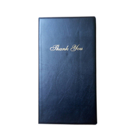 HS-512 Custom pvc menu restaurant bill folder