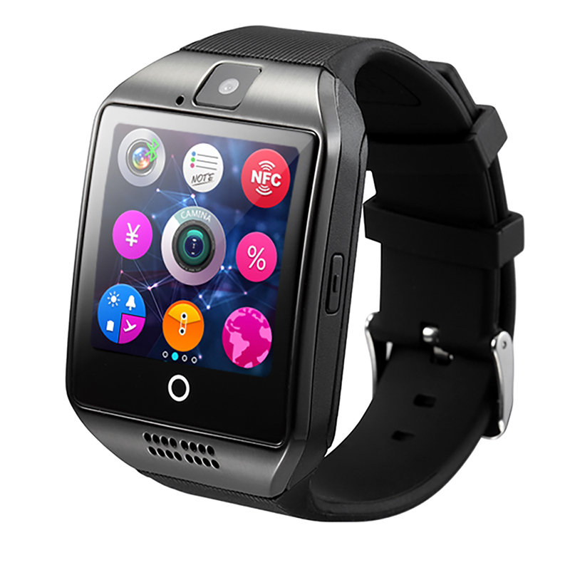 cheap and wholesale price Touch Screen bluetooth android Q18 Smart Watch sim card
