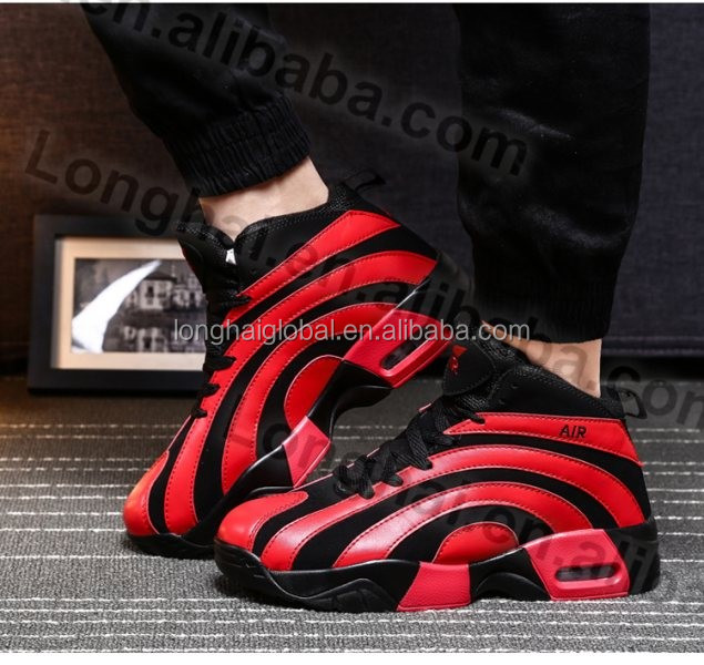 2016 Hot factory price mens street basketball shoes design, Wholesale super cheap new models basketball shoes