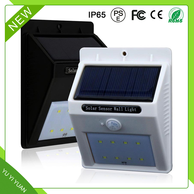 Outdoor High Lumen Sensor 50W Led Street Garden Solar Light with CE&ROHS
