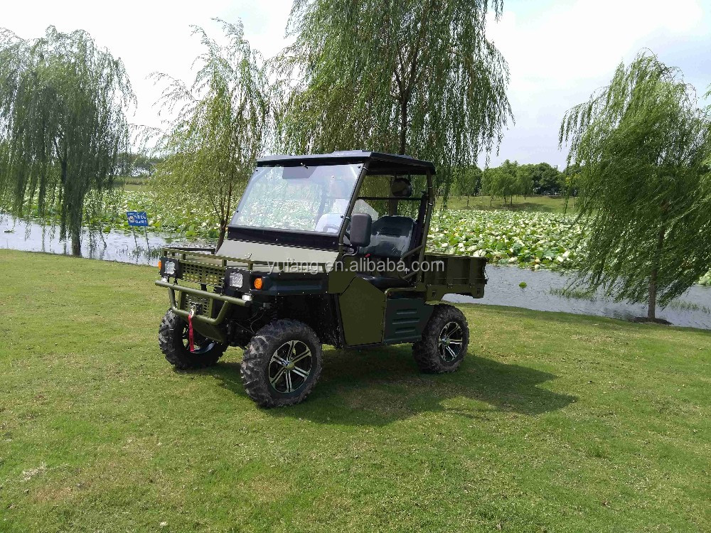 Electric 4WD 7.5kw UTV with cargo box