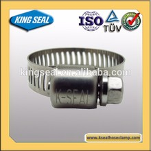 Chinese supplier ss304 hose clamp for motorcycles