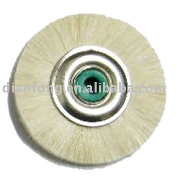 white goat hair brush