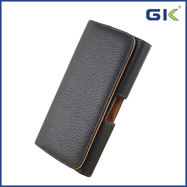 Popular Universal Leather Pouch Case Belt Holster For Smart Phone