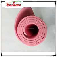 Long High Density Exercise Yoga Mat with Comfort Foam and Carrying Straps