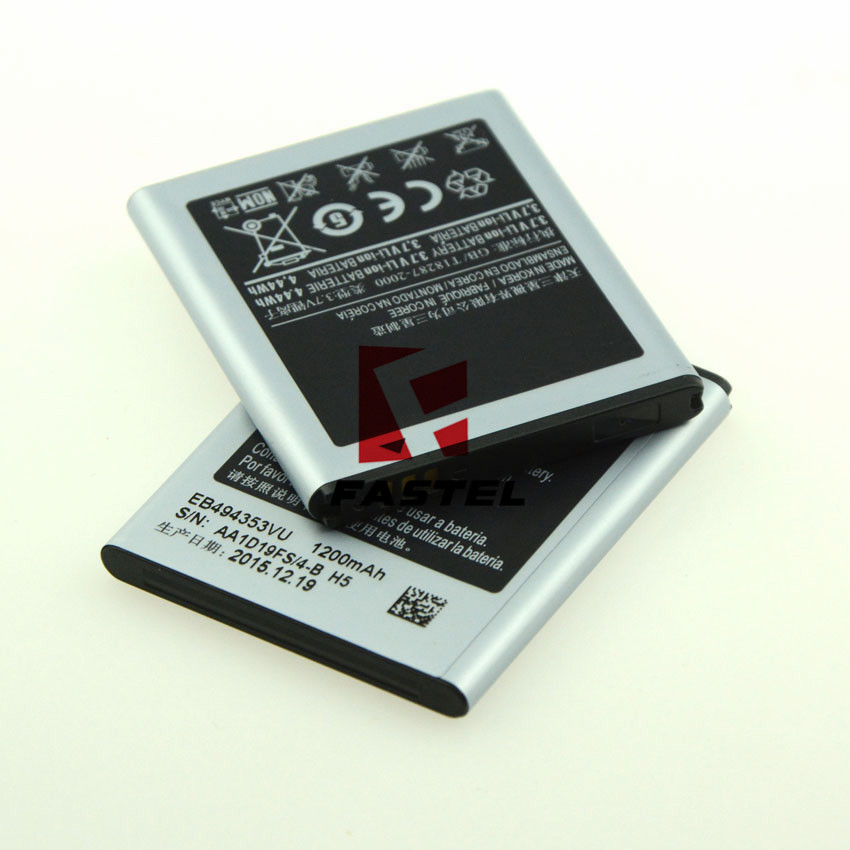 New EB494353VU Li-ion Mobile Phone Battery For Samsung Galaxy Pop i559/C6712 Star II DUOS/S7230E Wave 723