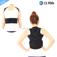 2016 new product Lumbar traction Shoulder back brace posture corrector Back pain relief as seen on tv