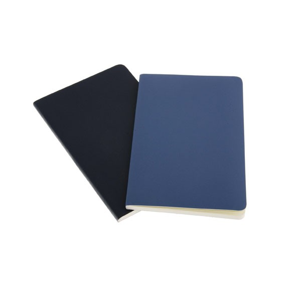 Gift usage and hardcover style emboss cover refillable leather notebook