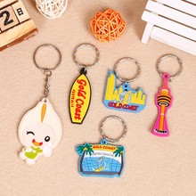 Custom key chain with Soft PVC Material
