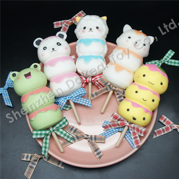Dango Slow Rising Squishy Charm Traditional Japanese squishy toys
