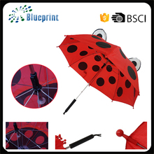 19inch cute printing animal kid ear umbrella manufacturer