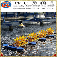 China first-level diesel engine paddle wheel aerator for sale