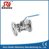 Professional factory flange pvc ball valve made in China