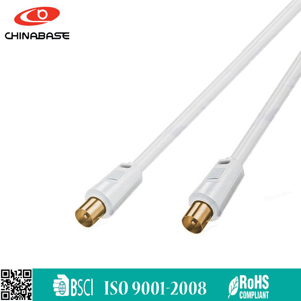 RG6 21 pin scart to 3 rca coaxial cable
