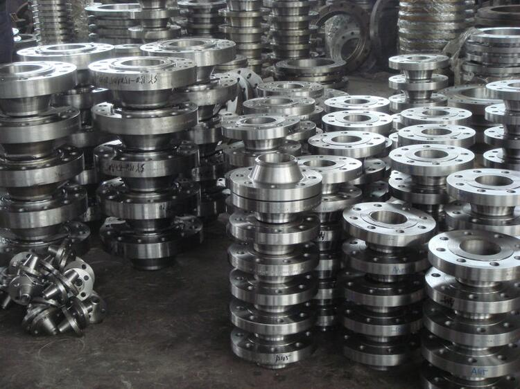 Custom Made Stainless Steel Pipe Flange