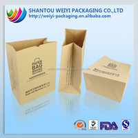 opaque plastic polyester flat bottom paper bags in india