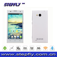 5.0 inch QHD capacitive touch screen MTK6572 Dual Core Android 4.4 WIFI Bluetooth 3G Mobile Phone V8