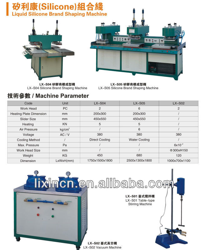 ISO famous Brand New shaping machine for clothes label