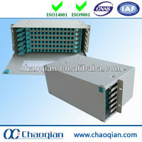 Fiber patch cord panel distribution
