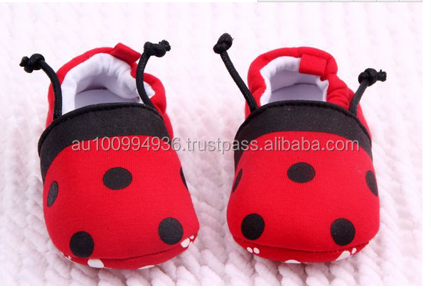 Baby's cute shoes, Baby's pre walking shoes, Baby's ladybird design shoes, MLS-055