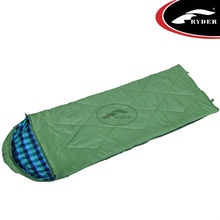 New Design OEM 4 Season Outdoor Camp Travel Hiking Envelope Synthetic Sleeping Bag