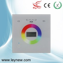 RGBW led display controller with touch panel for DC12-24V