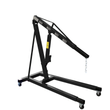 Car engine hoist small foldable hydraulic mini crane 1 ton for sale