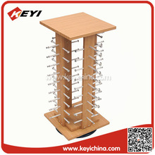 counter top display four sided metal display rack