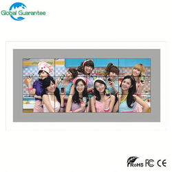 "46"" ultra narrow bezel 6.7mm lcd video wall with global guarantee"